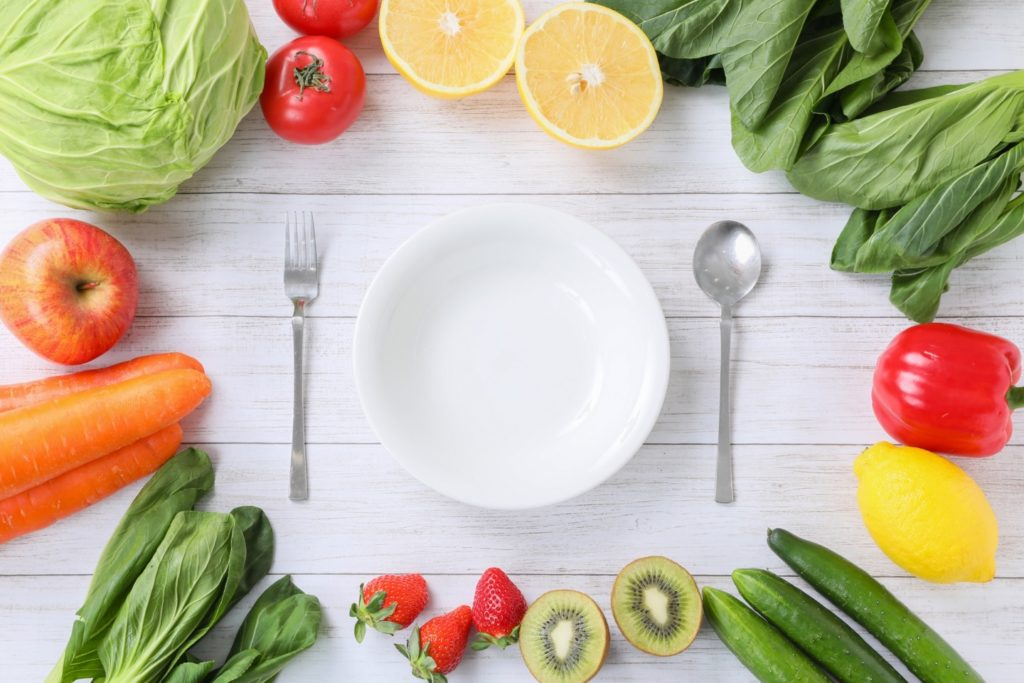 しっかり食べられる食事法を指導